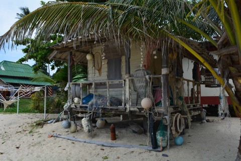 Beach shack. Photo taken in or around Lamai Beach, Ko Samui, Thailand by Stuart McDonald.