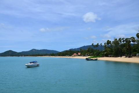 Mae Nam beach scenes. Photo taken in or around A weekend on Ko Samui, Ko Samui, Thailand by David Luekens.