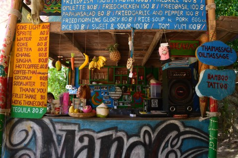 Jim's Bar has everything! Photo taken in or around Viewpoints on Ko Tao, Ko Tao, Thailand by Stuart McDonald.
