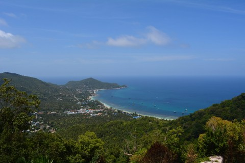 Now that is a view. Photo taken in or around Viewpoints on Ko Tao, Ko Tao, Thailand by Stuart McDonald.