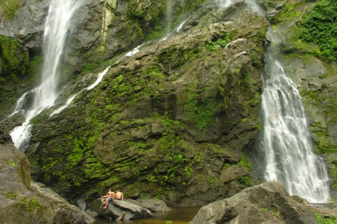 Khlong Lan doesn't mess around when it comes to waterfalls.