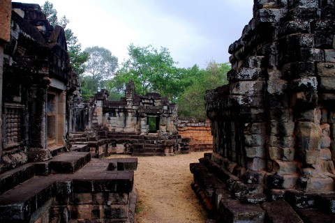 Still worth a quick wander through. Photo taken in or around Wat Athvea, Angkor, Cambodia by Mark Ord.