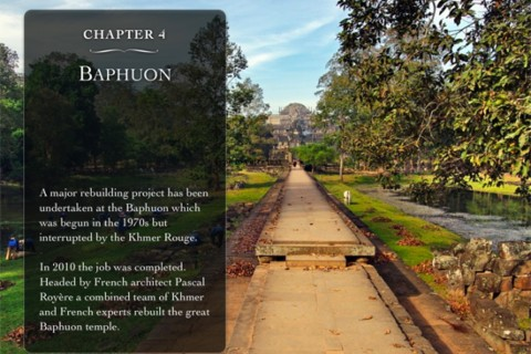 For the iPad enabled. Photo taken in or around Guidebooks to Angkor, Angkor, Cambodia by Stuart McDonald.