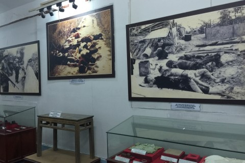 Son My Museum: Sombre and haunting. Photo taken in or around Son My Museum, Quang Ngai, Vietnam by Cindy Fan.
