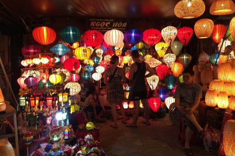 Let's face it: You probably won't buy just one lantern in Hoi An. Photo taken in or around Shopping, Hoi An, Vietnam by Cindy Fan.