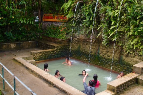 The smaller of the three baths. Photo taken in or around Banjar hot springs, Lovina, Indonesia by Sally Arnold.