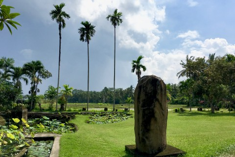 Lovely setting. Photo taken in or around Museum Rudana, Ubud, Indonesia by Sally Arnold.