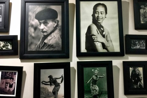Just a sample. Photo taken in or around Blanco Renaissance Museum, Ubud, Indonesia by Sally Arnold.