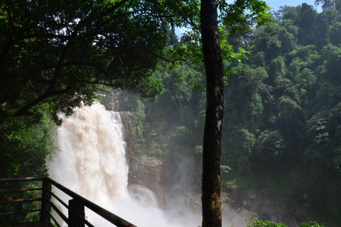 Haew Narok Waterfall, the park's top highlight. Photo taken in or around How to do Khao Yai National Park, Khao Yai National Park, Thailand by David Luekens.