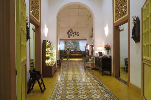 Witness the sensational renovation at Ikan Bakar Cianjur. Photo taken in or around Kota Lama, Semarang, Indonesia by Sally Arnold.