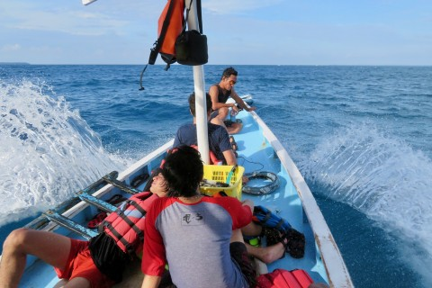 Taxi! Photo taken in or around Island hopping, Karimunjawa Islands, Indonesia by Sally Arnold.