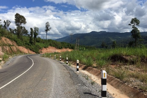 The roads are much improved. Photo taken in or around Guide to the Tha Khaek Loop, Tha Khaek Loop, Laos by Cindy Fan.