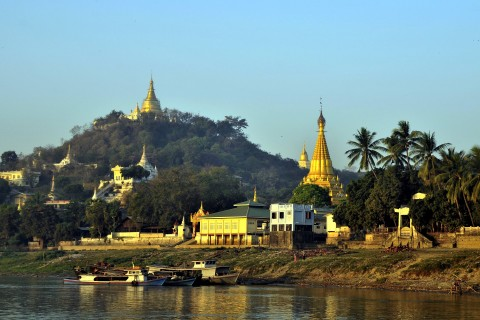 Beautiful Sagaing. Photo taken in or around Two-day Mandalay itinerary, Mandalay, Burma_myanmar by Mark Ord.
