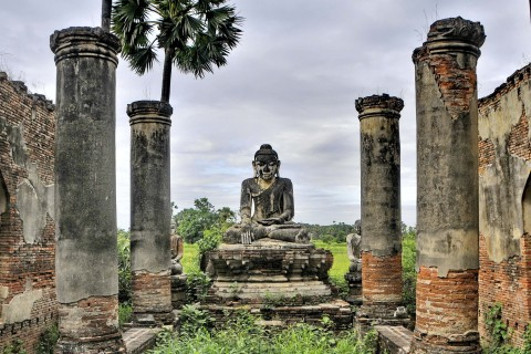 Moody Inwa. Photo taken in or around Great photography spots, Mandalay, Burma_myanmar by Mark Ord.